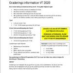 Graderings information